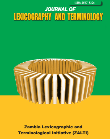 Second issue of the Journal of Lexicography and Terminology volume 1 issue 2 of 2017